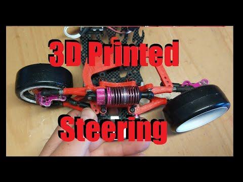 HOW TO  DIY RWD 3D PRINTED SAKURA D4 STEERING| Ver.2 Direccion Impresa Sakura D4