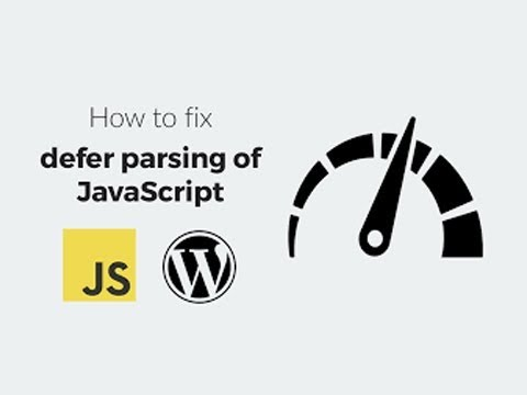 How To Defer Parsing Of JavaScript In WordPress | NST Infotech