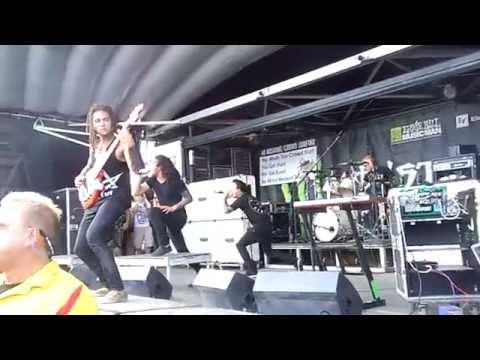 Born Of Osiris - Full Set - Warped Tour 2014 - Pittsburgh, PA - 7/15/14