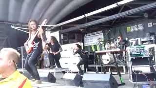 Born Of Osiris - Full Set - Warped Tour 2014 - Pittsburgh, PA - 7/15/14 thumbnail