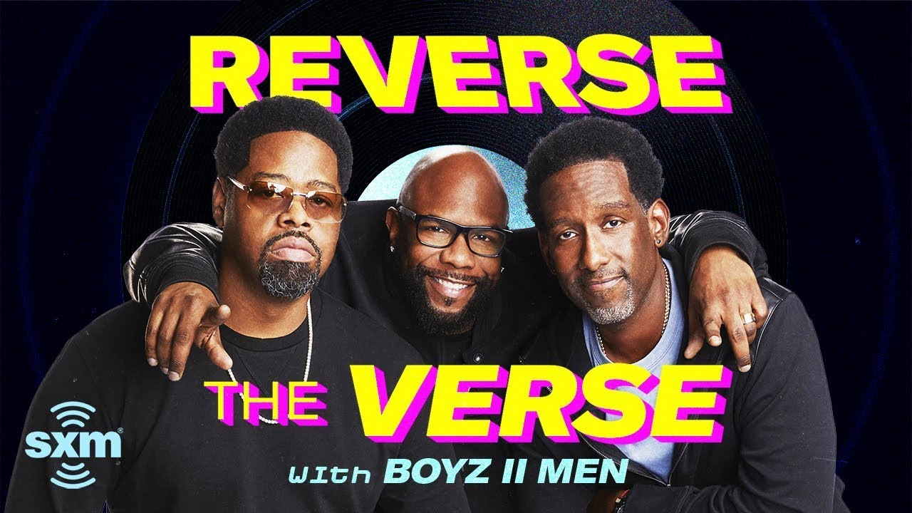 Boyz II Men Guess Their Songs Played Backwards | Reverse The Verse
