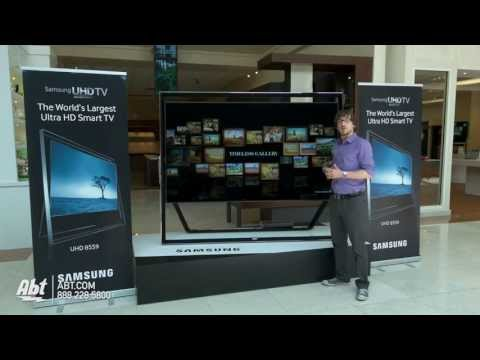 Samsung 85-inch UN85S9AFXZA Ultra HD 3D 4K LED HDTV -...