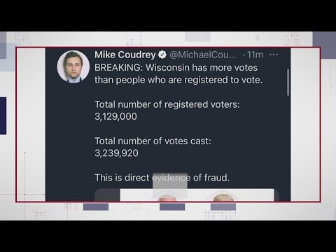 VERIFY: No, Wisconsin did not report more votes than people who ...