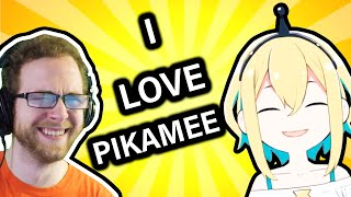 This VTuber Is FAMILY FRIENDLY! (Reacting/Reviewing VOMS Project's Pikamee Amano)