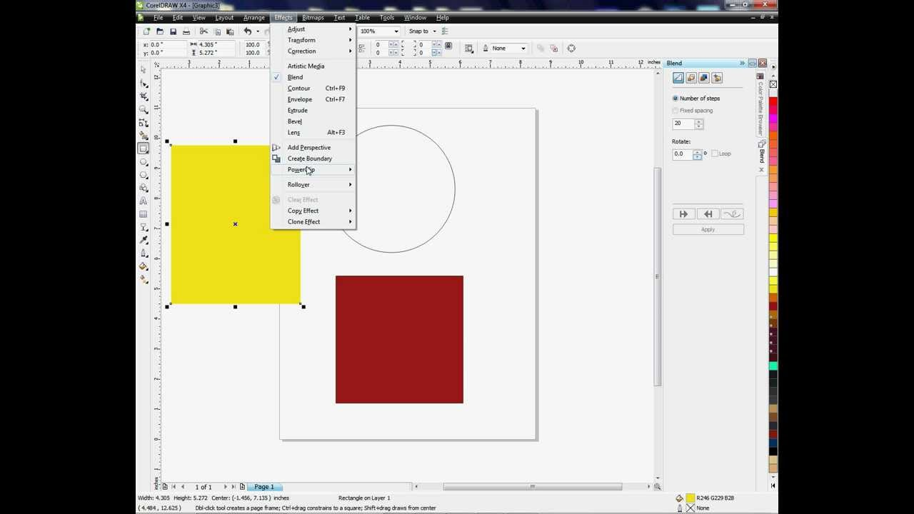 Creating a Perfect Circle or Square for Templates in CorelDRAW ...