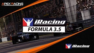 iRacing Formula 3.5 Championship 2019 S4/W12 - Road America
