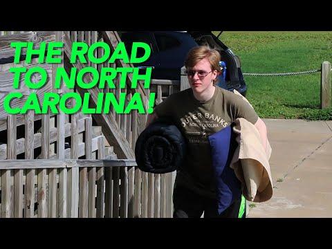 THE ROAD TO NORTH CAROLINA!
