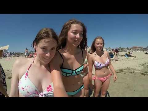 Chapitre Six Charlène et ses Girls, Concluent sur Santa Monica Venice Beach