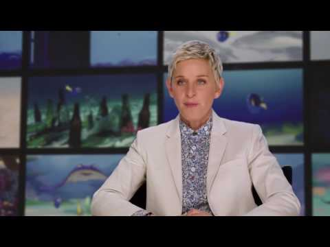 "Finding Dory: Ellen Degeneres ""Dory"" Behind the Scenes Movie Interview"