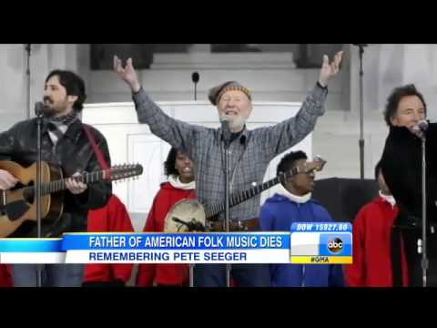 """Pete Seeger's HUAC testimony - Folk Singer & Activist """"Pete Seeger"""" Dead at Age 94"""
