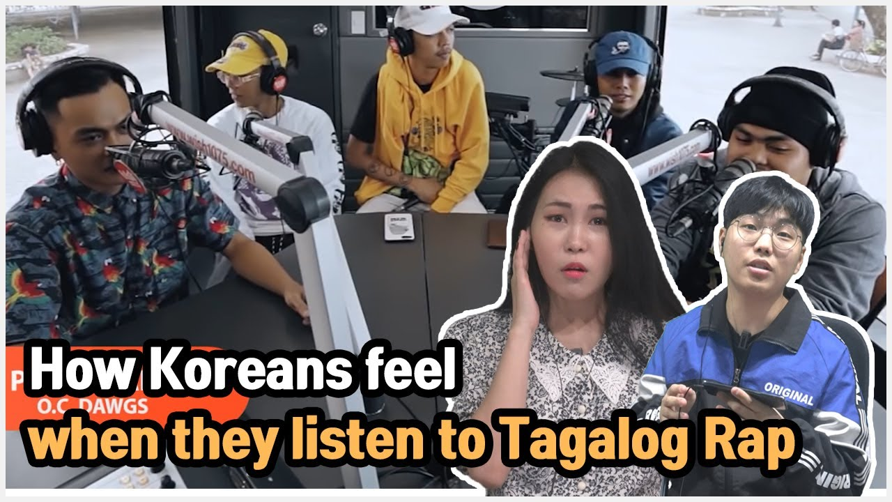 Koreans' Thoughts on Tagalog Rap. Koreans react to pauwi nako by O.C. Dawgs