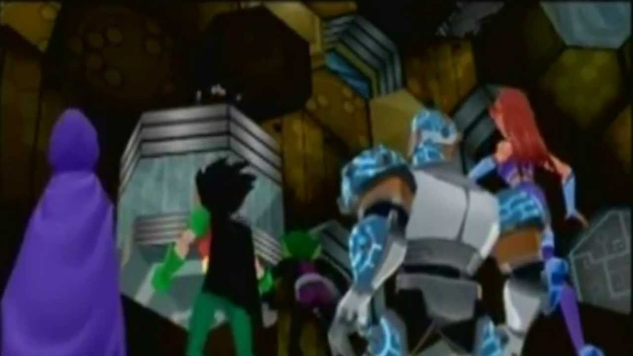 Talking Games: Story of Teen Titans (Video Game) - YouTube