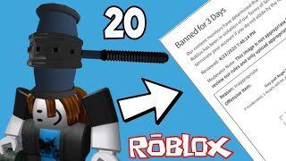 20 façons stupides d'être banni sur ROBLOX
