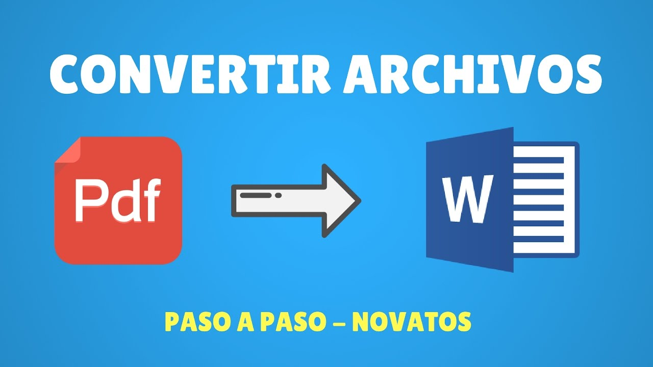 convertir documento en word a pdf gratis