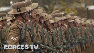 The Moment The Gurkha Class Of 2018 Became Riflemen • GURKHA SELECTION | Forces TV