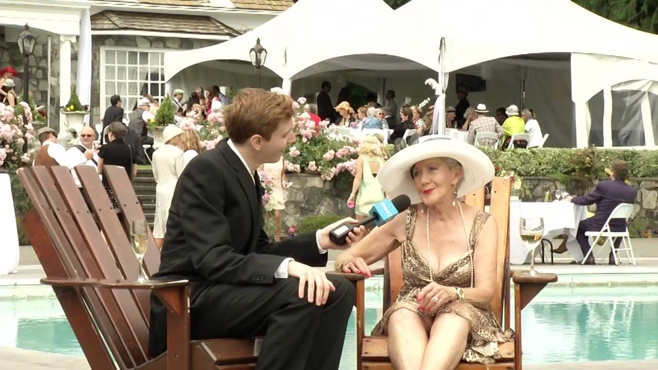 The Great Gatsby Garden Party - YouTube