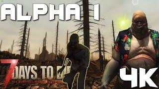 7 days to die Alpha 1 - Throwback week. Ep 1