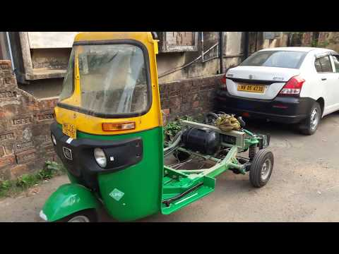 All New Bajaj RE Compact LPG Auto Rickshaw Complete Review