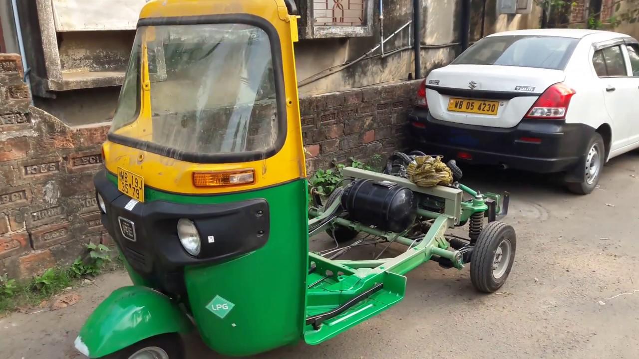 Poważne All New Bajaj RE Compact LPG Auto Rickshaw Complete Review - YouTube WT36