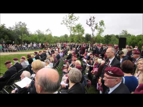 The Parachute Regiment and Airborne Forces Memorial Day 20th June 2015
