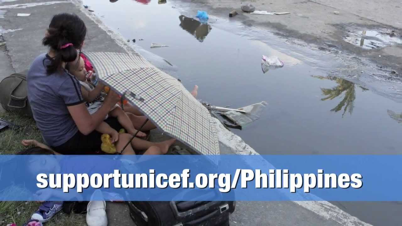 Philippines: Typhoon Haiyan - Everything is being done to reach children