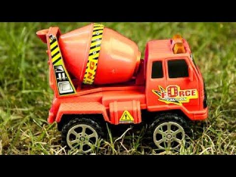 New Cement Mixer Truck Car Construction Real Trucks For Children