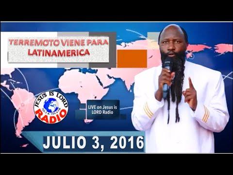 """TERREMOTO VIENE PARA LATINAMERICA"" PROFETA DR. DAVID OWUOR"
