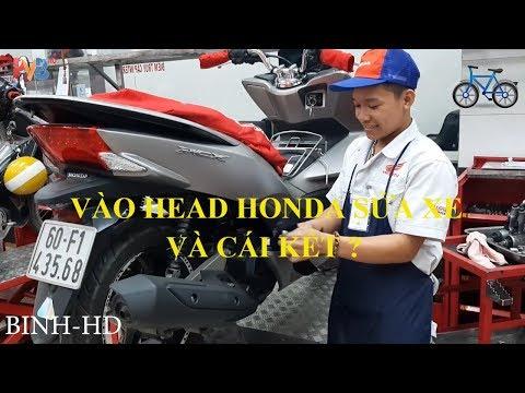 Sửa Xe Máy  Honda, Vào Sửa Xe Trong Head Honda Có Gì Khác ?