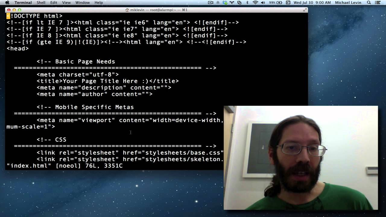 how to use vim editor in linux