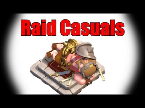 Clash of Clans: Tier 1 troops high lvl raid