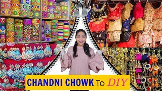 Top HIDDEN Places in CHANDNI CHOWK For Craft & Shopping | DIY QUEEN