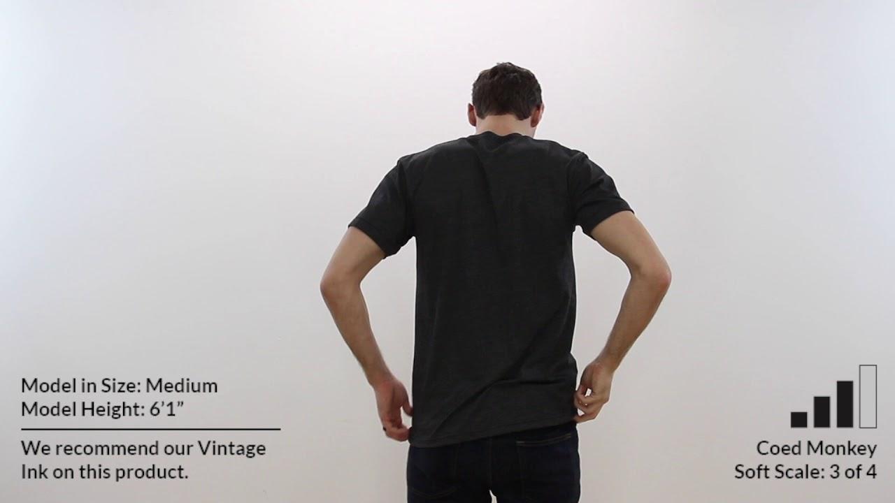 d0b6e1c5b Custom AMERICAN APPAREL 50/50 UNISEX T Shirt Style BB401 360° Product Video  by Coed Monkey