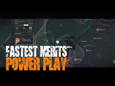 Elite: Dangerous - Powerplay - The fastest way to earn merits...