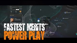 Elite: Dangerous - Powerplay - The fastest way to earn merits...