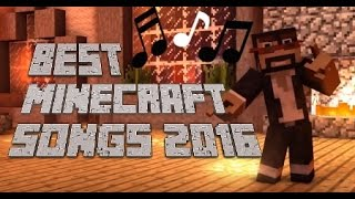 ♪ ♫ BEST Minecraft Songs! ♫ ♪ // BEST of 2016 Animations/Parodies Minecraft Songs