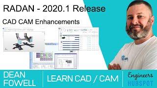 RADAN - 2020.1 Release CAD CAM Software