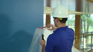 ZipWall® Dust Barrier for Commercial Remodeling and Renovation