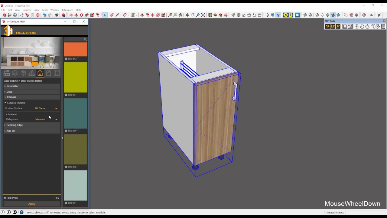 3H Furniture Tools for Sketchup | SketchUp Extension Warehouse