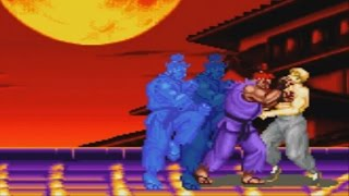 Super Street Fighter II X Revival (GBA) - Shin Gouki Playthrough - SURVIVAL MODE V.S. 100 NO DEATH