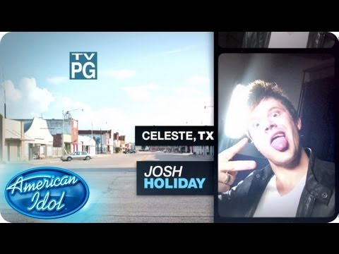 Meet Josh Holiday - Meet the Top 40 - AMERICAN IDOL SEASON 12