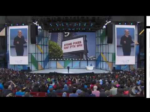 Google IO Keynote Live Stream Full Video 2017 Google Assistant for iPhones Announced