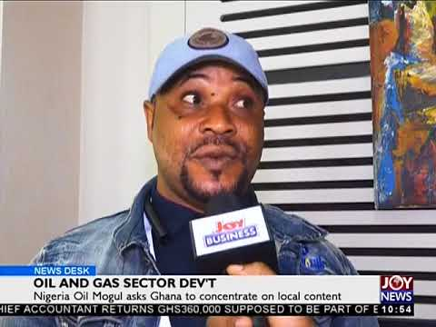 Oil and Gas Sector Dev't - Business Desk on JoyNews (13-7-18)