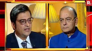 Arun Jaitley On Nation Wants To Know With Arnab Goswami | Exclusive