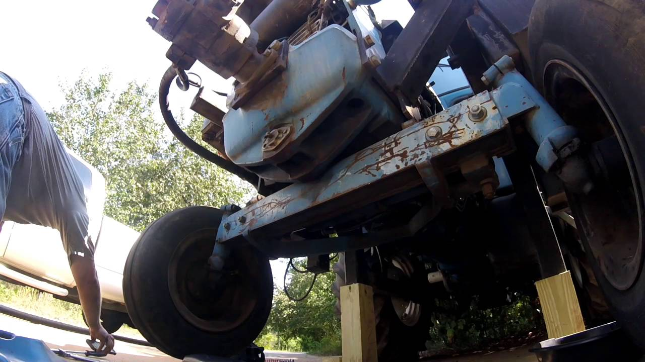 small resolution of ford tractor front axle removal