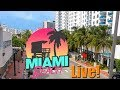 South Beach, Miami Beach, Florida USA - Live Stream 24/7 Quad HD 1440p