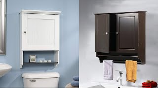 Best Wall Mounted Bathroom Cabinet - Ideal Furniture
