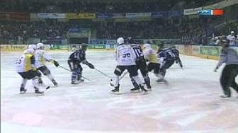 Dresdener Eislöwen 2:1 n.P. Lausitzer Füchse (Eishockey 2. Bundesliga)