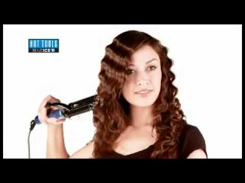 how to use a 3 barrel waver youtube