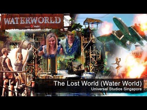 The Lost World | Water World | Universal Studios Singapore Full Show