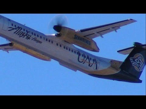 Alaska Horizon Airlines University of Anchorage Alaska Seawolves N443QX